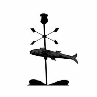 Escultura de la foto de los pescados esculturas fotográficas