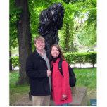 Escultura de la foto de Melissa y de Andy Escultura Fotografica