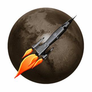 Escultura de la foto de Rocket retro Fotoescultura Vertical
