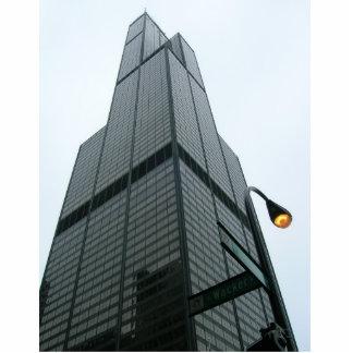 Escultura de la foto de Torre Sears Escultura Fotográfica