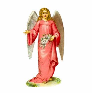 Escultura de la foto del ángel adorno fotoescultura