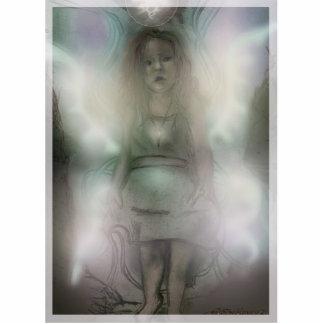Escultura de la foto del ángel de Inquizitive Fotoescultura Vertical