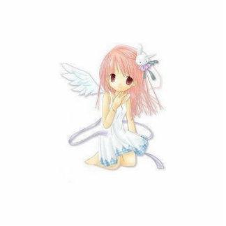 Escultura de la foto del ángel de Manga Fotoescultura Vertical