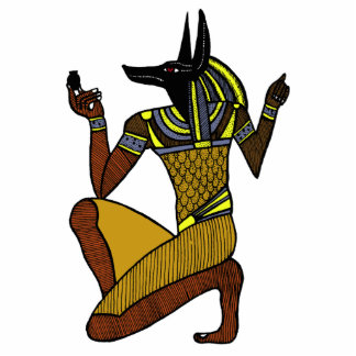Escultura de la foto del arrodillamiento Anubis Esculturas Fotográficas