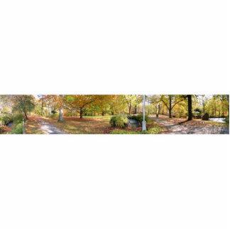 Escultura de la foto del ~ del panorama de la caíd fotoescultura vertical