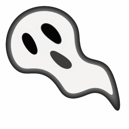 Escultura de la foto del fantasma de Halloween Fotoescultura Vertical