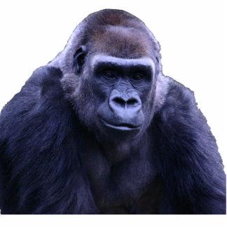 escultura de la foto del gorila fotoescultura vertical