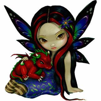 Escultura de la foto del jardín I de Dragonling Fotoescultura Vertical
