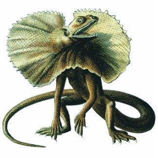 Escultura de la foto del lagarto de Jesús Fotoescultura Vertical
