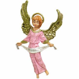 Escultura de la foto del llavero del ángel llavero fotográfico