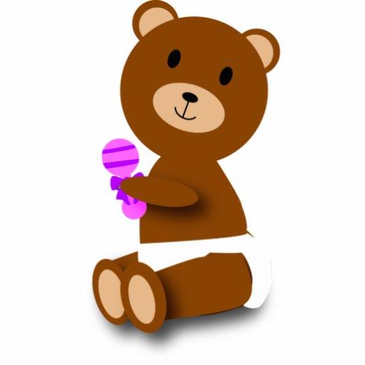 Escultura de la foto del oso del bebé esculturas fotográficas