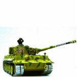 Escultura de la foto del tanque del tigre esculturas fotograficas