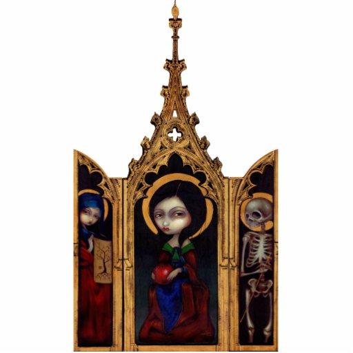 Escultura de la foto del tríptico de Eve Escultura Fotográfica