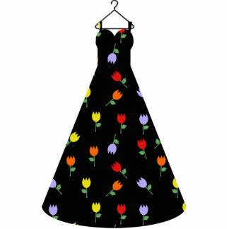 Escultura de la foto del vestido del tulipán del esculturas fotograficas