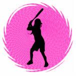 Escultura de la pared del talud del softball escultura fotográfica