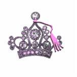 Escultura de la tiara de la graduación esculturas fotograficas
