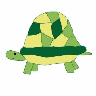Escultura de la tortuga fotoescultura vertical