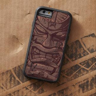 Escultura de madera del tótem de la estatua de funda tough xtreme iPhone 6