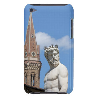 escultura de Neptuno en Fontana di Nettuno iPod Case-Mate Protectores