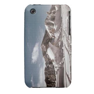 Escultura de nieve del oso polar funda para iPhone 3 de Case-Mate