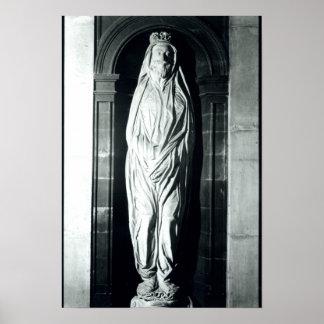 Escultura de piedra de John Donne en su cubierta Impresiones