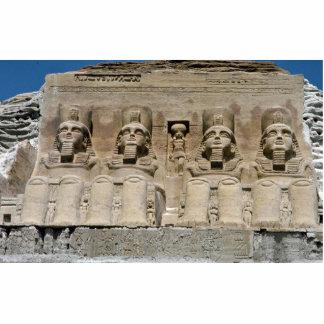 Escultura de ruinas egipcias, Egyp de la arena del Fotoescultura Vertical