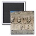 Escultura de ruinas egipcias, Egyp de la arena del Iman Para Frigorífico