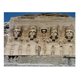 Escultura de ruinas egipcias, Egyp de la arena del Postal