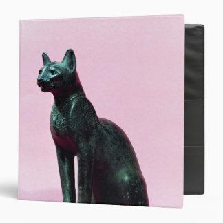 Escultura de un gato último período