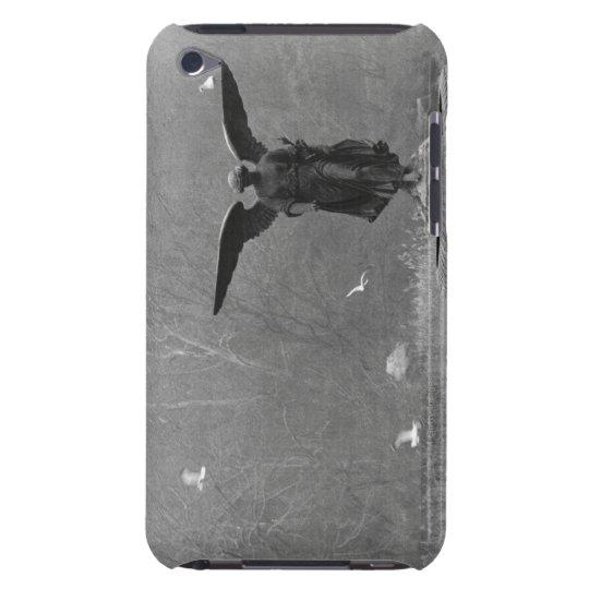 Escultura del ángel en la charca funda para iPod de Case-Mate