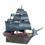 Escultura del barco pirata esculturas fotográficas