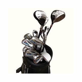 Escultura del club de golf fotoescultura vertical