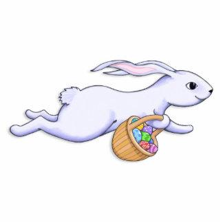 Escultura del funcionamiento del conejo de Pascua Fotoescultura Vertical