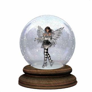 Escultura del globo del Faery del Harlequin del Escultura Fotografica