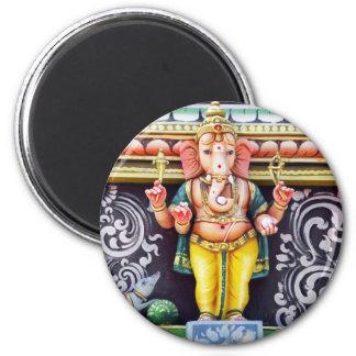 Escultura del ídolo de Ganesh Imán De Nevera