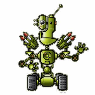 Escultura del Jinx del robot Fotoescultura Vertical