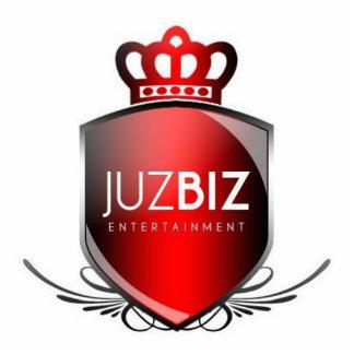 Escultura del logotipo de los negocios de Juz Fotoescultura Vertical