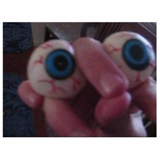 Escultura del ojo de Bob Fotoescultura Vertical