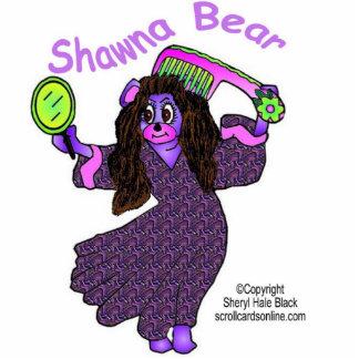 Escultura del oso de Shawna Fotoescultura Vertical