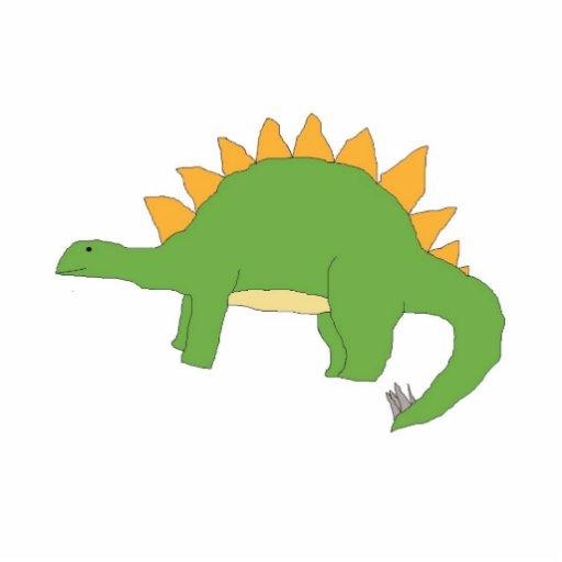 Escultura del Stegosaurus Fotoescultura Vertical