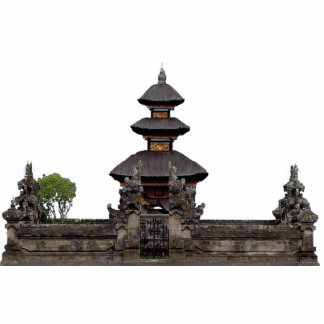 Escultura del templo del Balinese Escultura Fotográfica