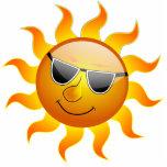Escultura divertida de la foto de Sun del verano Escultura Fotografica