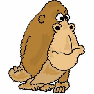 Escultura divertida de la foto del gorila de los C Fotoescultura Vertical