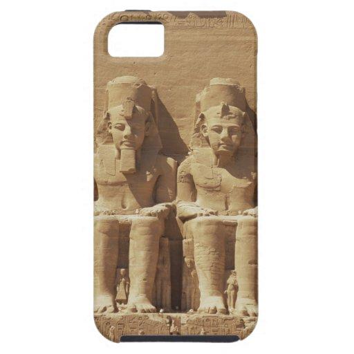 Escultura en Abu Simbel - El Cairo, Egipto iPhone 5 Fundas