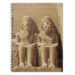 Escultura en Abu Simbel - El Cairo, Egipto Cuadernos