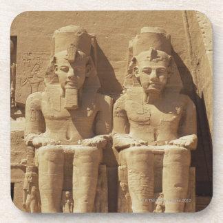 Escultura en Abu Simbel - El Cairo, Egipto Posavaso