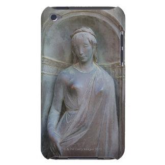 Escultura en el Duomo en Siena, Italia iPod Touch Cárcasas