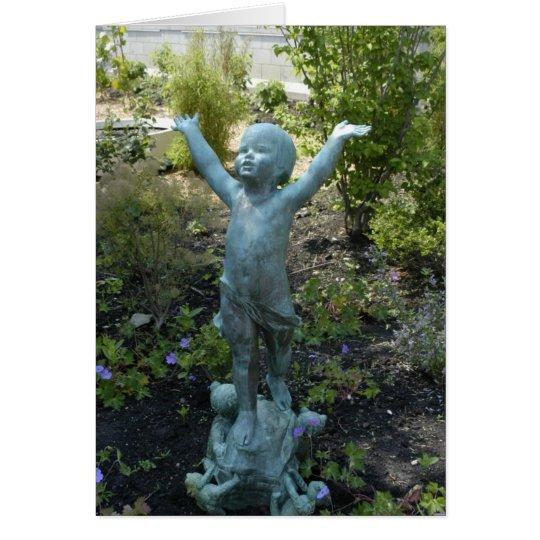 Escultura en el invernadero de Phipps, Pittsburgh Tarjeta Pequeña