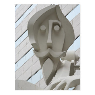 Escultura en Houston, Tejas Postales