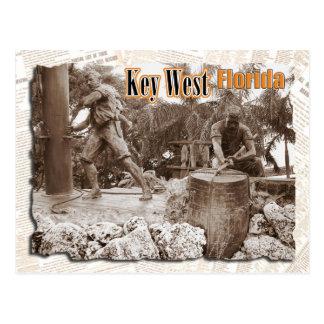 Escultura en Key West, la Florida Postal